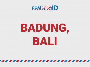 BADUNG postcode