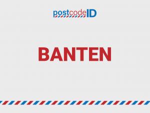 kode pos BANTEN