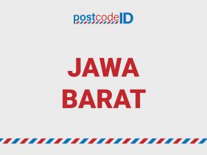 kode pos JAWA BARAT