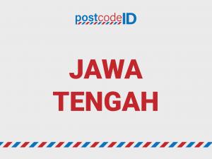 kode pos JAWA TENGAH