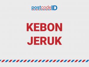 Kode pos Kebon Jeruk