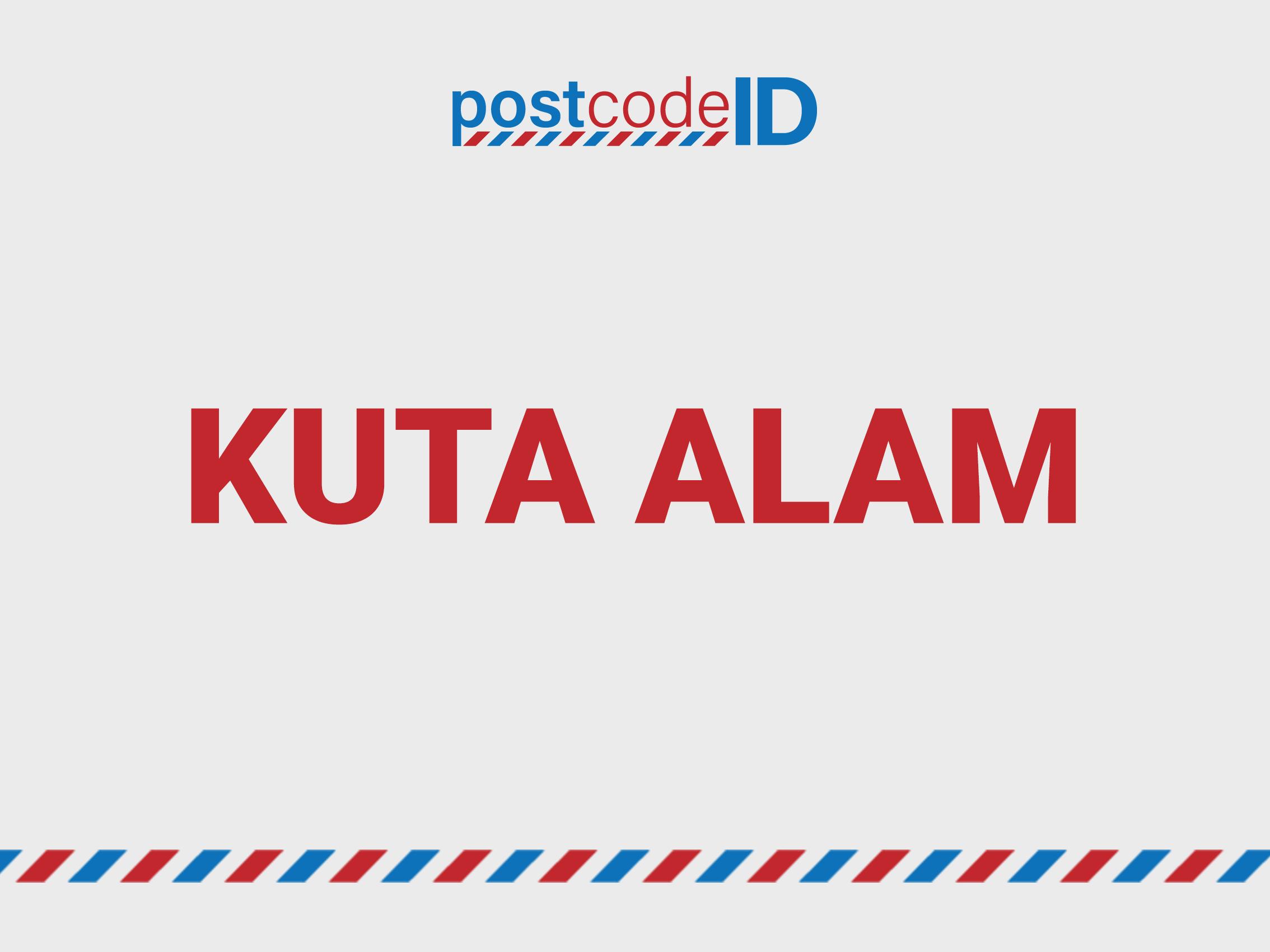 Kode Pos Kuta Alam Banda Aceh Postcode Id