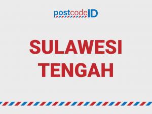 SULAWESI TENGAH postcode