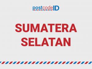 SUMATERA SELATAN postcode