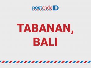 TABANAN BALI postcode