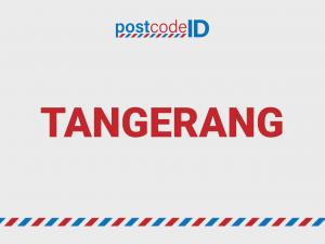 TANGERANG postcode